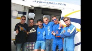 AFF IRC skydive spain